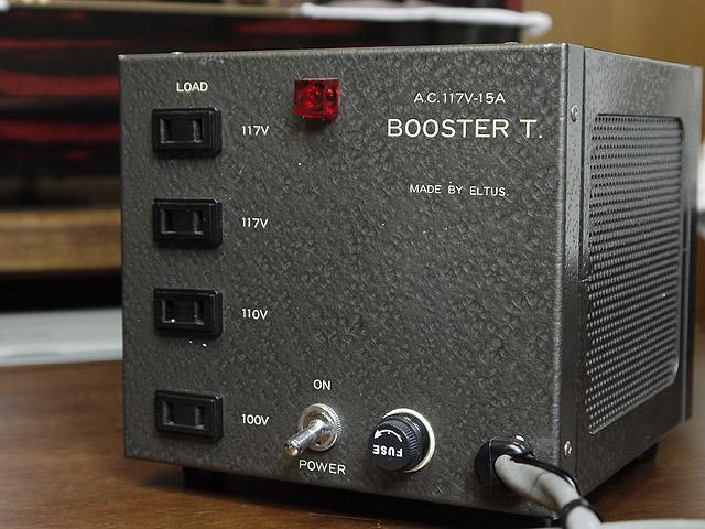 昇圧トランス ELTUS BOOSTER T. 15A-2