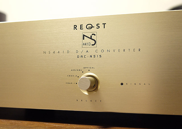 REQST「DAC-NS1S ver.Signature」正面