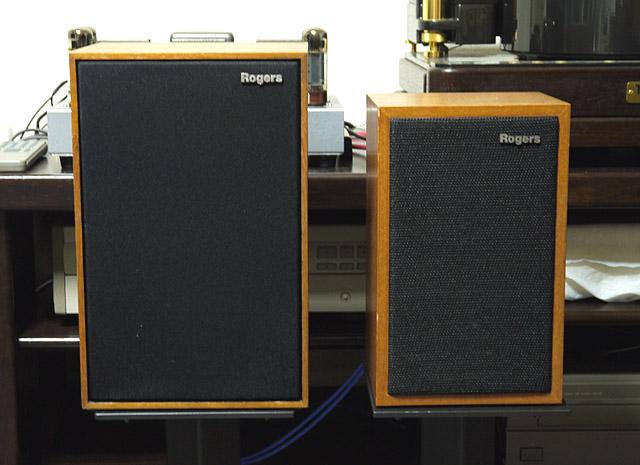 Rogers LS2 と LS3/5a