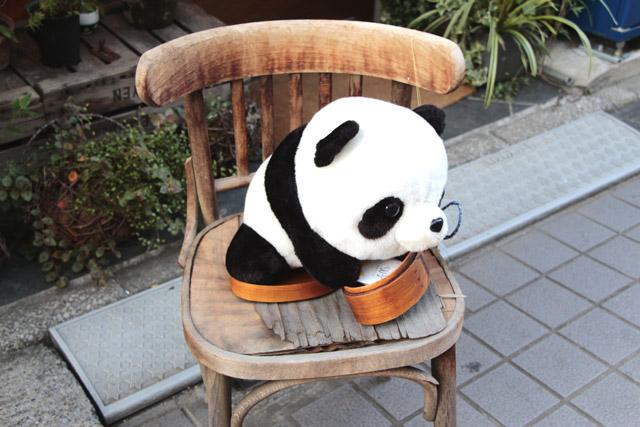 パンダのぬいぐるみ12