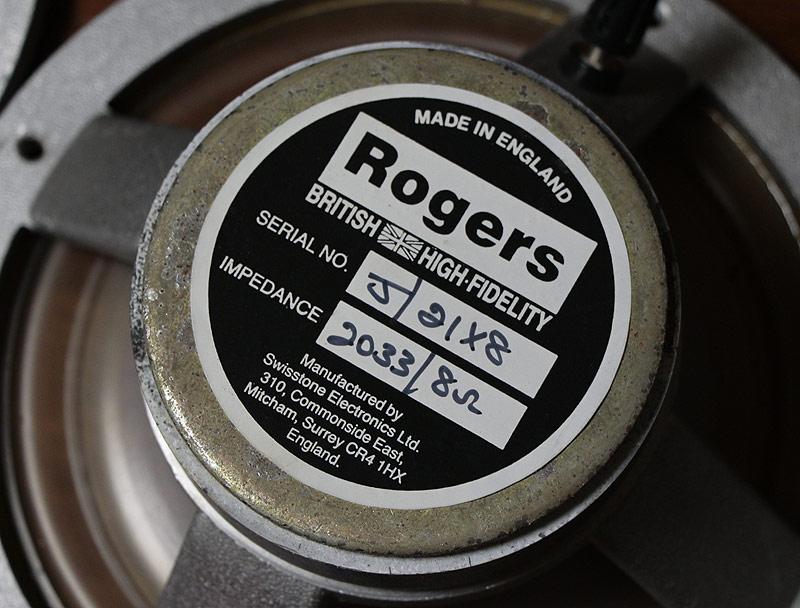 Rogers LS5/9 初期 ウーファーユニット-3