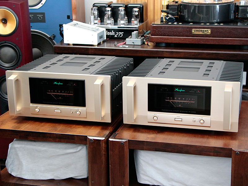 """Accuphase【M-6000】モノラルパワーアンプペア"""""""