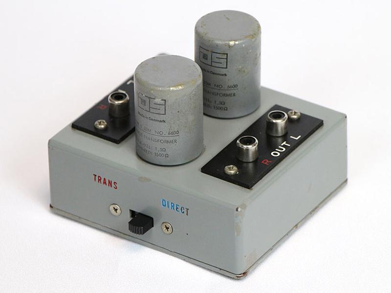 JS Ortofon STA-6600 MC昇圧トランス