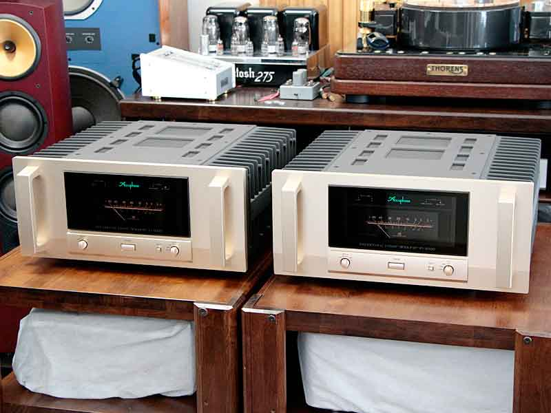 Accuphase【M-6000】アキュフェーズ モノラルパワーアンプペア