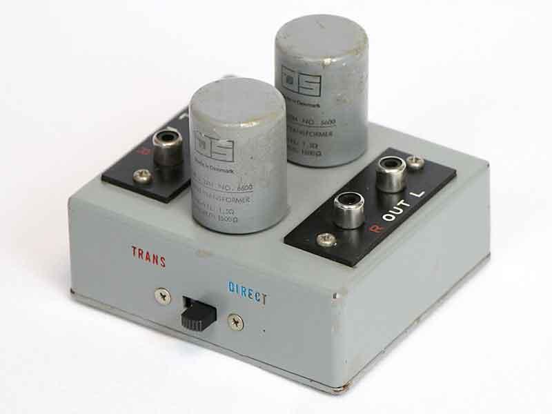 JS Ortofon STA-6600 オルトフォン TYPE0,32M / No,6600 MC昇圧トランス